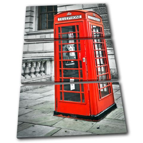 London Telephone Box Landmarks - 13-1847(00B)-TR32-PO